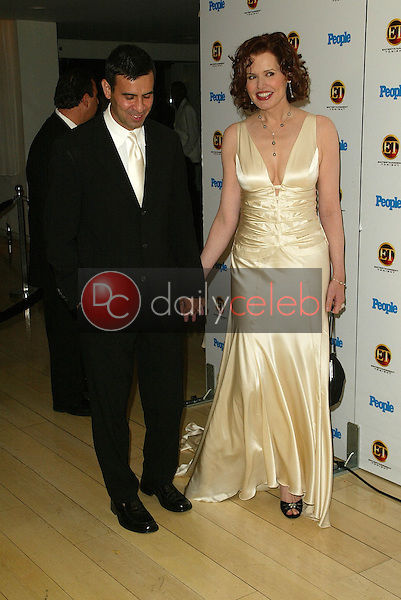 Geena Davis and husband Reza<br /> At the Entertainment Tonight Emmy Party Sponsored by People Magazine, The Mondrian Hotel, West Hollywood, CA 09-18-05<br /> Jason Kirk/DailyCeleb.com 818-249-4998