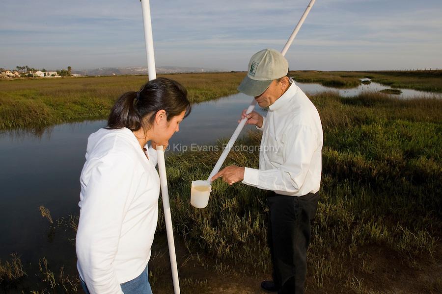 Water Quality Testing - Tijuana Estuary Reserve
