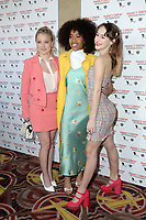 "LOS ANGELES - MAR 10:   Laura Slade Wiggins, Zoe Renee, Mackenzie Graham at the ""Nancy Drew And The Hidden Staircase"" World Premiere at the AMC Century City 15 on March 10, 2019 in Century City, CA"
