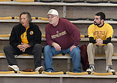 Eileen, William and Richy Schwalm - The Boston College Eagles defeated the Northeastern University Huskies 5-1 (EN) in their NCAA Quarterfinal on Saturday, March 12, 2016, at Kelley Rink in Conte Forum in Boston, Massachusetts.