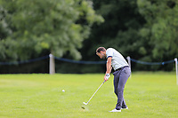 Carlos Del Moral (ESP) plays his 2nd shot on the 16th hole during Sunday's Final Round of the Northern Ireland Open 2018 presented by Modest Golf held at Galgorm Castle Golf Club, Ballymena, Northern Ireland. 19th August 2018.<br /> Picture: Eoin Clarke | Golffile<br /> <br /> <br /> All photos usage must carry mandatory copyright credit (&copy; Golffile | Eoin Clarke)