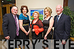 Shay Byrne, Jane Byrne, Ann Histon, Marion Histon, John Histon enjoying the Irish Coursing Club Awards Dinner Dance at the Ballyroe Heights Hotel on Saturday