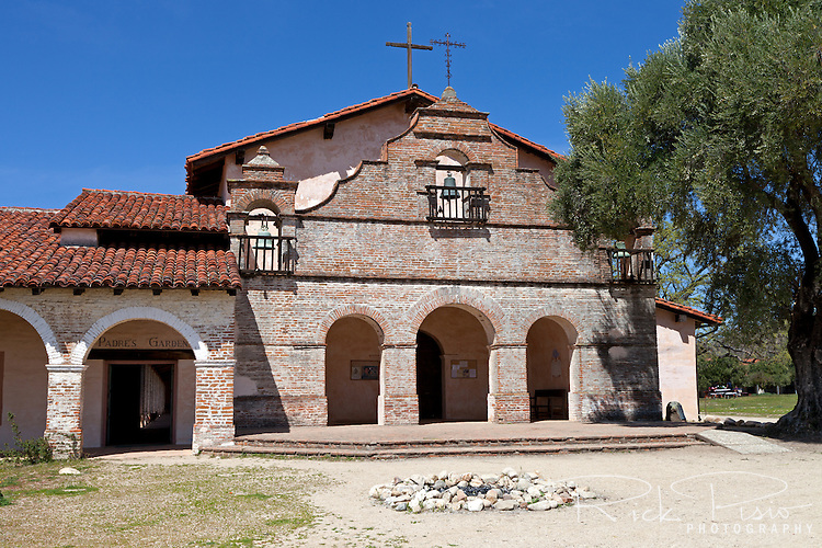 "Mission San Antonio de Padua sits within the ""Valley of the Oaks"" in Monterey County near the town of Jolon. The mission was founded on July 14, 1771 by Father Junipero Serra and was the third mission in Alta California. Mission San Antonio de Padua is located on eighty pristine acres on what was once the Milpitas Unit of the Hearst Ranch and is today surrounded by the Army's Fort Hunter Ligget Military Reservation."