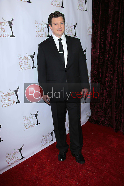 Nathan Fillion<br /> at the 2013 Writers Guild Awards, JW Marriott, Los Angeles, CA 02-17-13<br /> David Edwards/DailyCeleb.com 818-249-4998