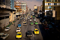 Being one of the largest cities in the world, Tehran is struggling with traffic issues.  Many efforts have been done in the past few years to improve the transportation situation, particularly in the city center.