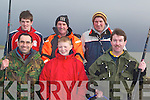 FISHING: Members of the Tralee Bay Sea Angling Fishing Club taking part in the 2nd round of the fishing competition on Fenit Pier on Sunday. Front l-r: Jose Claro, Killian O'Leary and Colm McDaid. Back l-r: Trevor Dalton, Con O'Sullivan and Mark Patterson   Copyright Kerry's Eye 2008