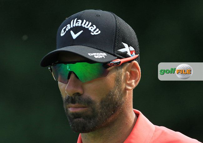 Alvero Quiros (ESP) on the 3rd tee during the Round 2 of the 2016 BMW International Open at the Golf Club Gut Laerchenhof in Pulheim, Germany on Friday 24/06/16.<br /> Picture: Golffile | Thos Caffrey