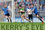 Aidan O'Mahony Kerry in action against Bernard Brogan Dublin in the National League Division One Final in Croke park, Dublin on Sunday.