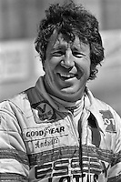 LONG BEACH, CA - MARCH 30: Mario Andretti in the pit lane before practice for the United States Grand Prix West on March 30, 1980, at the temporary street circuit in Long Beach, California.