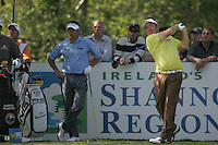 Damien McGrane tees off on the 15th hole during the first round of the 2008 Irish Open at Adare Manor Golf Resort, Adare,Co.Limerick, Ireland 15th May 2008 (Photo by Eoin Clarke/GOLFFILE)