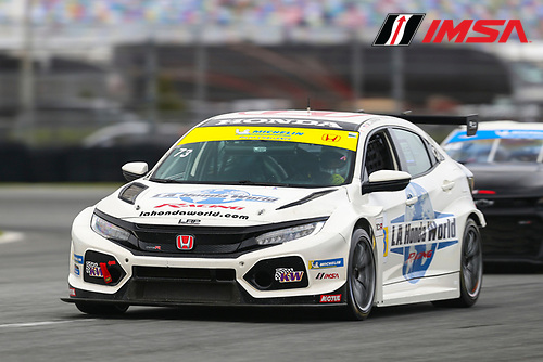#73 LA Honda World Racing Honda Civic TCR, TCR: Mike LaMarra, Mathew Pombo, Larry Connor