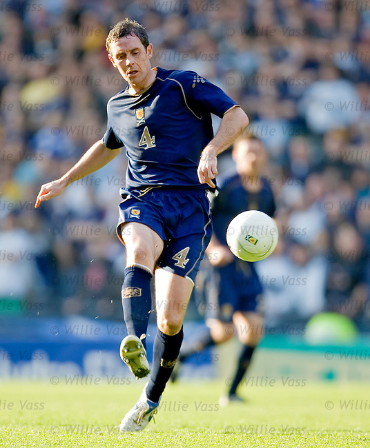 David Weir, Scotland.stock season 2006-2007.pic willie vass