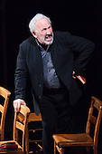 "London, UK  21/06/2011. Actor Simon Callow performing the one-man play ""Being Shakespeare"" at the Trafalgar Studios, London. Play was written by Jonathan Bate and is directed by Tom Cairns. Please see special instructions for usage rates. Photo credit should read Bettina Strenske"