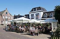 Nederland Stavoren- 2017.  Hotel Restaurant de Vrouwe van Stavoren.   Foto Berlinda van Dam / Hollandse Hoogte