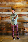 Blake Mycoskie, Founder of TOM's, poses for a portrait at the TOM's headquarters in Los Angeles, California October 8, 2015.