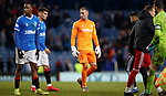 01.02.2020 Rangers v Aberdeen: Allan McGregor at full time
