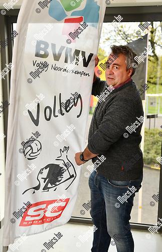 2017-04-26 / Volleybal / Seizoen 2016-2017 / Ivan Vermeiren, voorzitter van volleybalclub Volley Noorderkempen<br /> <br /> ,Foto: Mpics.be