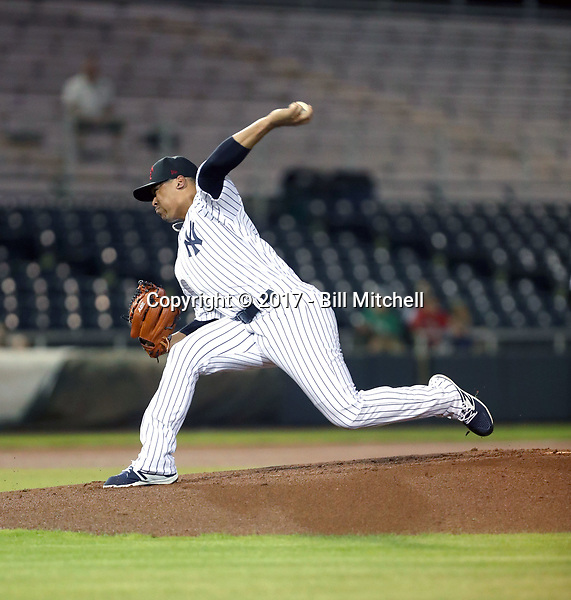 Justus Sheffield - Scottsdale Scorpions - 2017 Arizona Fall League (Bill Mitchell)