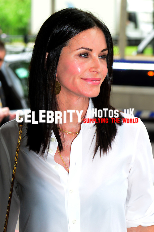 Courteney Cox  at the Ivor Novello Awards at the Grosvenor House Hotel, Park Lane, London on May 19th 2016