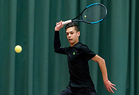 Wateringen, The Netherlands, March 9, 2018,  De Rijenhof , NOJK 12/16 years, Jay Zwinkels (NED)<br /> Photo: www.tennisimages.com/Henk Koster