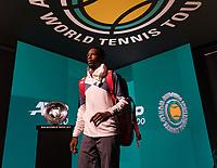 Rotterdam, The Netherlands, 12 Februari 2019, ABNAMRO World Tennis Tournament, Ahoy, first round singles: Gael Monfils (FRA)<br /> Photo: www.tennisimages.com/Henk Koster