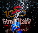 Thibaut Pinot (FRA) FDJ wins Stage 20 of the 100th edition of the Giro d'Italia 2017, running 190km from Pordenone to Asiago, Italy. 27th May 2017.<br /> Picture: LaPresse/Simone Spada | Cyclefile<br /> <br /> <br /> All photos usage must carry mandatory copyright credit (&copy; Cyclefile | LaPresse/Simone Spada)
