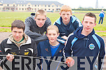 Shot putt contestants Michael O'Neill Gneeveguilla, Ray Dineen, Mark Dineen, Daniel Shanahan all St Brendan's and Denis Hayes Farranfore/Maine Valley at the Farranfore/Maine Valley AC open sports day in Castleisland on Sunday        Copyright Kerry's Eye 2008