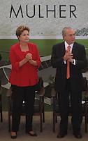 """BRASÍLIA,DF 13 DE MARÇO 2013. - PRESIDENTA DILMA PARTICIPA DA CERIMÔNIA DE LANÇAMENTO DO """"PROGRAMA MULHER VIVER SEM VIOLÊNCIA"""" -  A presidenta Dilma, e o vice-presidente Michel Temer durante o lançamento do programa Mulher Viver Sem Violência no Palácio do Planalto, em Brasilia, nesta quarta-feira, 13. FOTO: RONALDO BRANDÃO/BRAZIL PHOTO PRESS"""