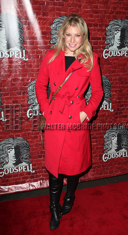 Ari Graynor.arriving for the Opening Night Performance of the Broadway Revival of 'Godspell' at Circle in the Square Theatre in New York City.