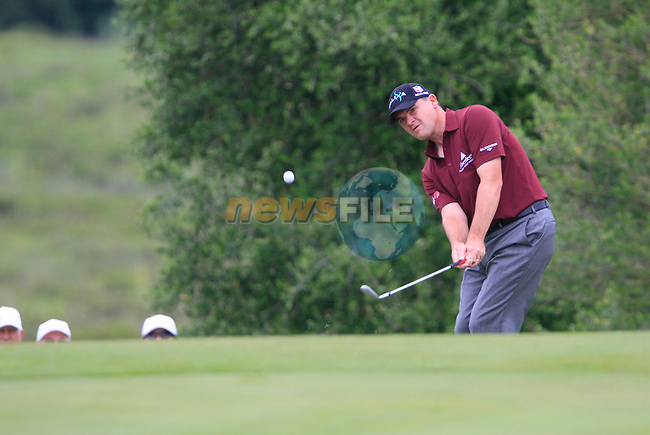 Paul Lawrie (SCO) in action at the 7th green during Day 2 of the Volvo World Match Play Championship in Finca Cortesin, Casares, Spain, 20th May 2011. (Photo Eoin Clarke/Golffile 2011)