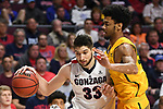 Gonzaga 1718 BasketballM vs San Francisco