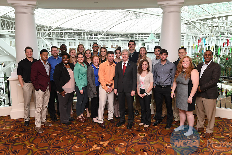 17 JAN 2017:  The NCAA Division II SAAC meeting takes place during the 2017 NCAA Convention takes place at the Gaylord Opryland Resort & Convention Center in Nashville, TN. Justin Tafoya/NCAA Photos