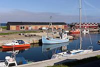 Hafen von Hasle auf der Insel Bornholm, D&auml;nemark, Europa<br /> Port of Hasle, Isle of Bornholm Denmark