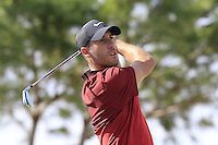 Romain Wattel (FRA) tees off the 13th tee during Thursday's Round 1 of the 2016 Portugal Masters held at the Oceanico Victoria Golf Course, Vilamoura, Algarve, Portugal. 19th October 2016.<br /> Picture: Eoin Clarke | Golffile<br /> <br /> <br /> All photos usage must carry mandatory copyright credit (&copy; Golffile | Eoin Clarke)