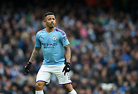 26th January 2020; Etihad Stadium, Manchester, Lancashire, England; English FA Cup Football, Manchester City versus Fulham; Gabriel Jesus of Manchester City