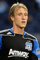 Brad Ring San Jose Earhquakes midfielder... Sporting KC defeated San Jose Earthquakes 1-0 at LIVESTRONG Sporting Park, Kansas City, Kansas.