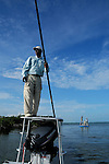 Fly fishing for Bonefish in Abaco Bahamas