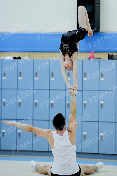 Sports Acrobatics Training Day Lilleshall 14.7.13