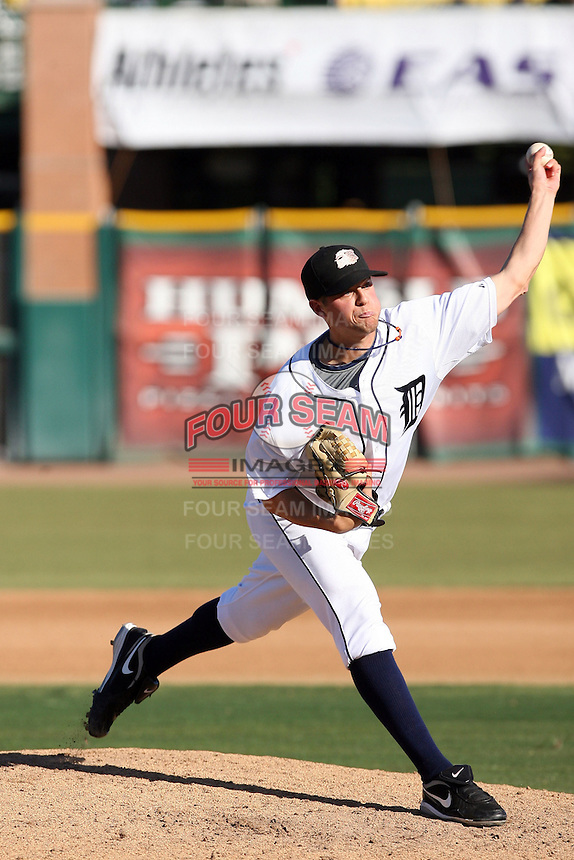Andrew Oliver - Peoria Javelinas, 2009 Arizona Fall League - The Javelinas won the AFL championship over the Phoenix Desert Dogs, 5-4, at Scottsdale Stadium, Scottsdale, AZ (11/21/2009). .Photo by:  Bill Mitchell/Four Seam Images..