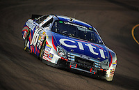 Apr 17, 2009; Avondale, AZ, USA; NASCAR Nationwide Series driver Greg Biffle during the Bashas Supermarkets 200 at Phoenix International Raceway. Mandatory Credit: Mark J. Rebilas-