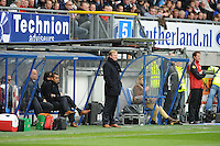 VOETBAL: HEERENVEEN: Abe Lenstra Stadion, SC Heerenveen - Feyenoord, 06-05-2012, technische staf Feyenoord, Giovanni van Bronckhorst (Assistent Trainer), Ronald Koeman (Trainer), Eindstand 2-3, ©foto Martin de Jong
