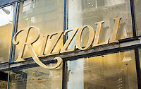 The Rizzoli  bookstore reopens at it new location on Broadway in the NoMad neighborhood of New York on Monday, July 27, 2015. Their former flagship store on West 57 Street closed in 2014 after 50 years to make way for development of a hotel.  (© Richard B. Levine)