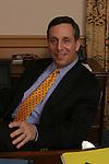 MEDFORD, MA.TUFTS UNIVERSITY PRESIDENT LARRY BACOW