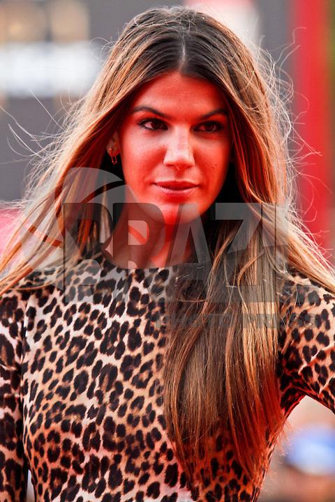 VENEZA, ITALIA, 31 DE AGOSTO 2011 - 68 FESTIVAL DE CINEMA EM VENEZA - Bianca Brandolini durante o Red Carpet no 68 Festival Internacional de Cinema em Veneza na Italia. FOTO: VANESSA CARVALHO - NEWS FREE.