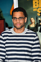 "LOS ANGELES, USA. October 11, 2019: Michael Ealy at the premiere of ""Zombieland: Double Tap"" at the Regency Village Theatre.<br /> Picture: Paul Smith/Featureflash"