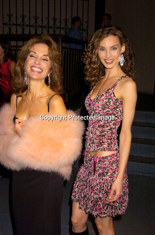 Susan Lucci and Alicia Minshew ..at ABC Casino Night on October 7, 2004 at The Lighthouse..at Chelsea Piers. ..Photo by Robin Platzer, Twin Images