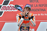 Termas De Rio Hondo (Argentina) 03/04/2016 - gara Moto GP / foto Luca Gambuti/Image Sport/Insidefoto<br />nella foto: Marc Marquez