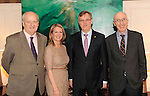 Eamonn McKeown,  Irish Tourism Industry Confederation CEO, , Niamh O'Shea, Killarney Park Hotel, Tim Fenn, IHF CEO and  Padraig Treacy, Killarney Park Hotel, at the Irish Hotels Federation Conference 'President's Dine Around' event in The  Killarney Park Hotel  on Monday  night. Picture: MacMonagle, Killarney