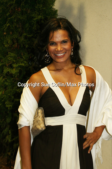 OLTL's January Lavoy at the 16th Annual Feast with Famous Faces to benefit the League for the Hard of Hearing on October 27, 2008 at Pier Sixty at Chelsea Piers, New York City, New York. (Photo by Sue Coflin/Max Photos)