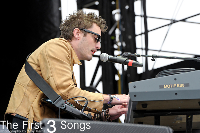 Steven McKellar of Civil Twilight performs during Day 1 of the Voodoo Experience at City Park in New Orleans, Louisiana on October 28, 2011.